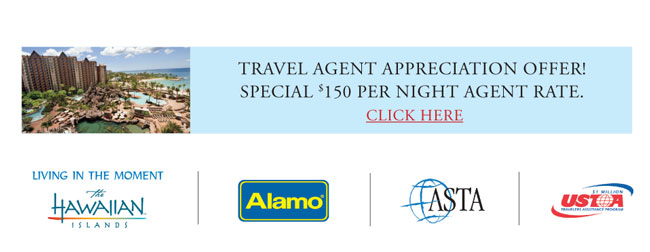 Travel Agent Appreciation Offer