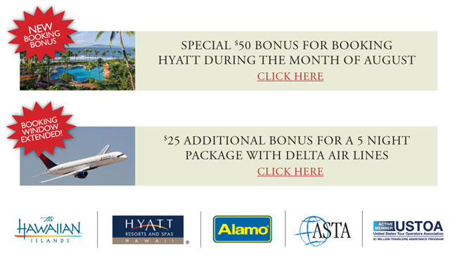 HYATT RESORTS HAWAII / ALL ABOUT HAWAII / HVCB / ASTA / USTOA